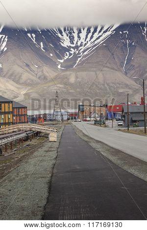 View Over Longyearbyen, Svalbard, Norway