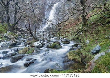 Aber Waterfall Wales