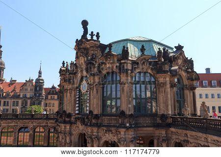 Glockenspiel Pavilion At Palace Zwinger, Dresden