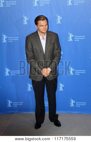 BERLIN - FEBRUARY 13: Actor Leonardo DiCaprio attends the 'Shutter Island' Photocall during day three of the 60th Berlin Film Festival at the Grand Hyatt Hotel on February 13, 2010 in Berlin, Germany