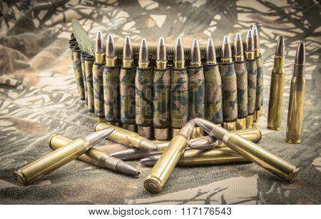 Camouflage Ammunition Belt
