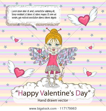 St. Valentines Day card