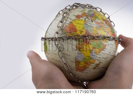 Globe In Chains