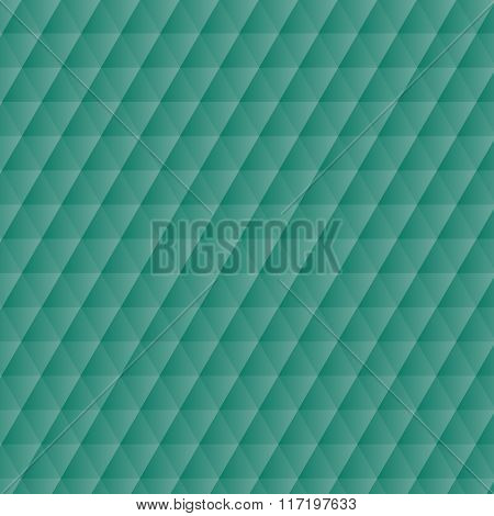 Abstract Green Geometric Hexagons Pattern Background