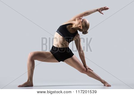 Reverse Warrior Pose