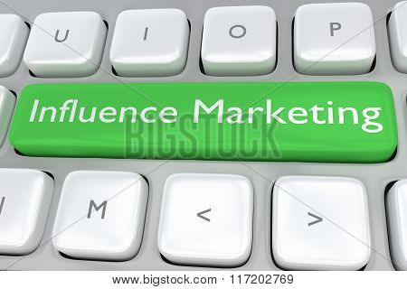 Influence Marketing Concept