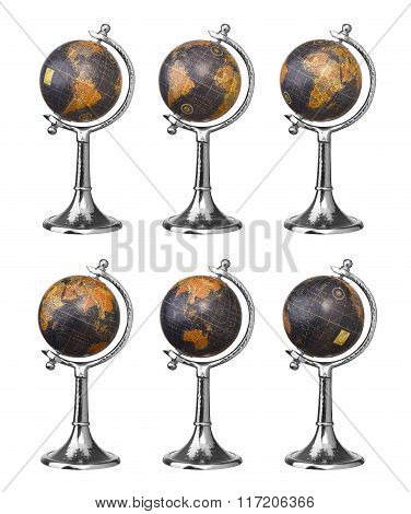 Old Style Globes