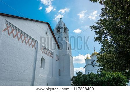 Belfry In The Intercession Convent At Suzdal.