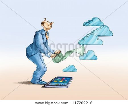 The Making Of A Cloud