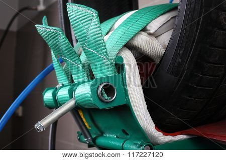 Car Service. Repair Of Tires - Vulcanization