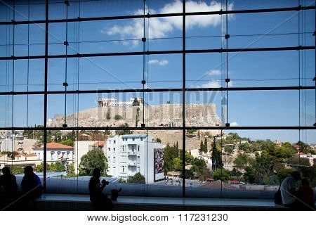The Parthenon On The Acropolis, Greece