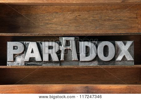 Paradox Word Tray