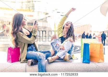 Girls Shopping
