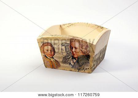 wooden napkin holders handmade