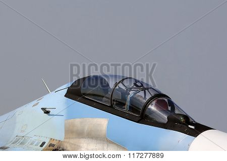 Nose Of The Military Aircraft