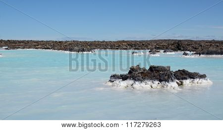 Waters Outside The Blue Lagoon, Iceland