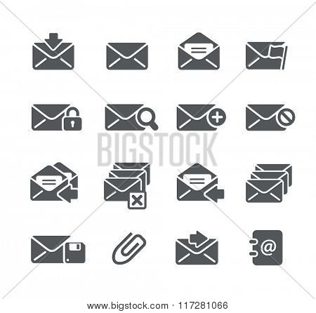 E-mail Icons // Utility Series