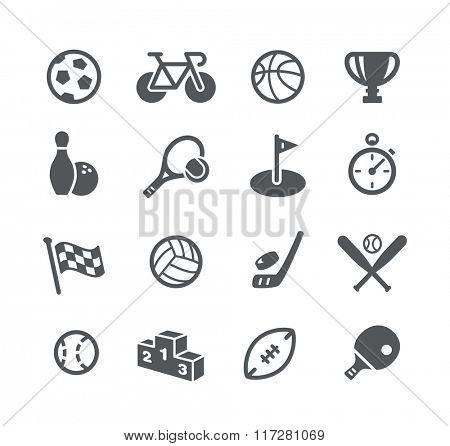 Sports Icons // Utility Series