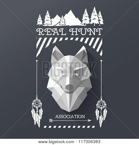 hunter socirty wolf
