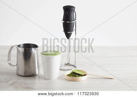 All Ware For Modern Matcha Latte Preparation