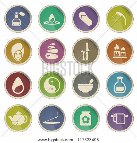 Spa simply icons
