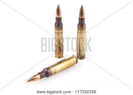 Bullets Isolated On White