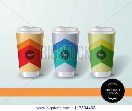 Mockup template for branding and product designs. Isolated realistic bottles with unique design. Easy to use for advertising branding and marketing.