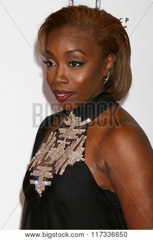 LOS ANGELES - FEB 5:  Estelle at the 47TH NAACP Image Awards Arrivals at the Pasadena Civic Auditorium on February 5, 2016 in Pasadena, CA