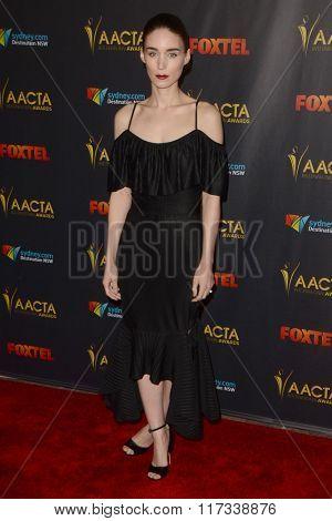 LOS ANGELES - JAN 29:  Rooney Mara at the 2016 AACTA International Awards at the PETA's Bob Barker Building on January 29, 2016 in Los Angeles, CA