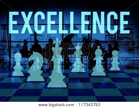Excellence Excellent Good Intelligence Perfection Concept