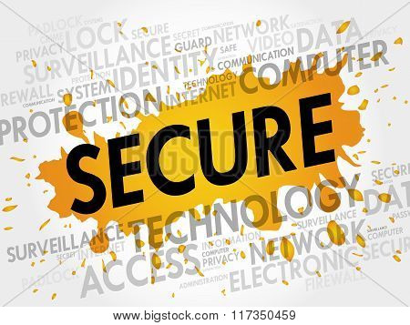 Secure Word Cloud