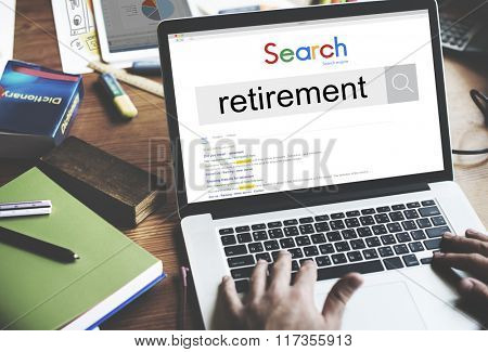 Retirement Plam Wealth Worth Security Management Concept