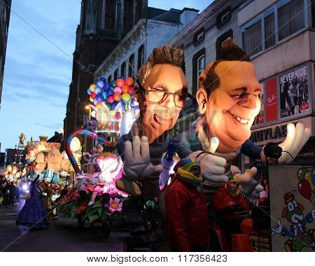 Lighted Carnival Float, Aalst 2016