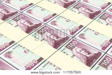 Scotland pound bills stacks background.
