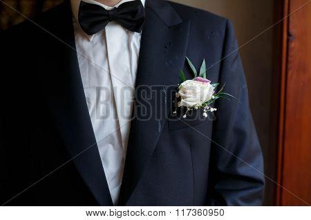 Elegant Fashin Stylish  Tuxedo With Cute Bow