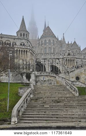 The Fisherman's Bastion On The Castle Hill