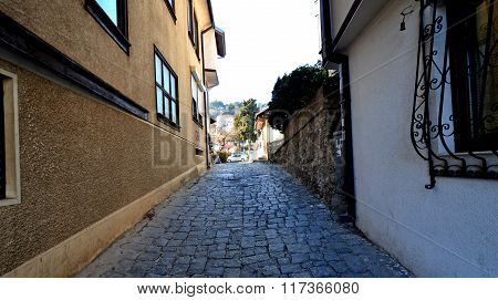 Picture of Streets at older part of OhridMacedona