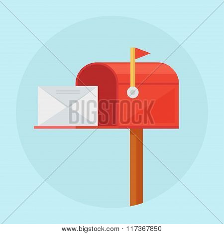 Mail Box Vector Illustration