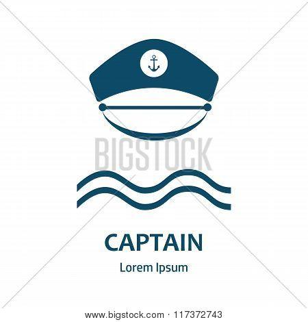 Captain Hat Flat Icon