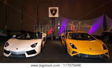 Lamborghini Exhibit