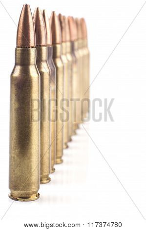 Row Of Bullets
