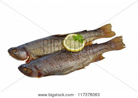 Smoked trouts
