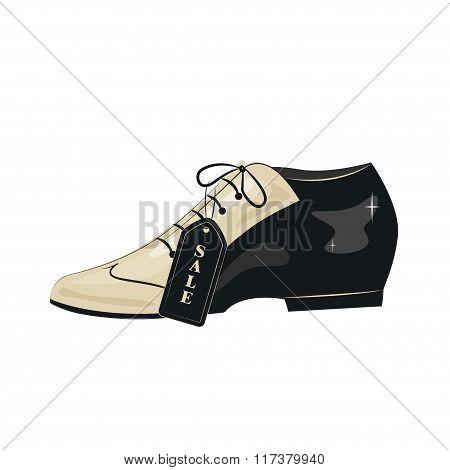 Elegant men's shoes.