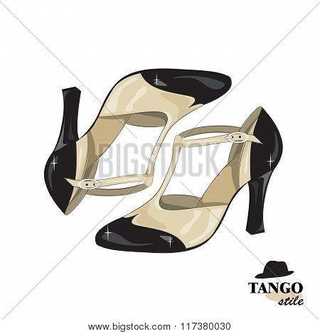 Elegant women's shoes.