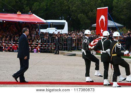 Turkish Prime Minister Recep Tayyip Erdo?an