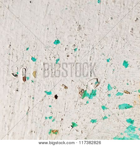 Rusty White Metal Surface