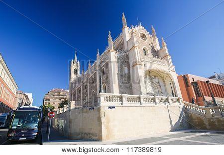 San Jeronimo El Real Church In Madrid, Spain