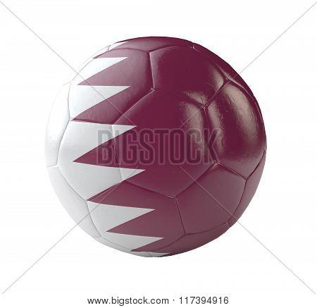 Soccer Ball Qatar 3D
