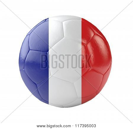 Soccer Ball France 3D