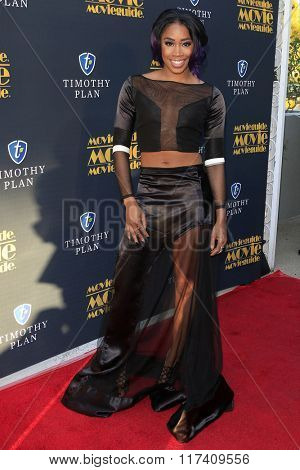 LOS ANGELES - FEB 5: Ariane Andrew at the 24th Annual MovieGuide Awards at Universal Hilton Hotel on February 5, 2016 in Universal City, Los Angeles, California